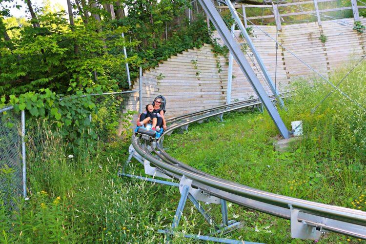 Blue Mountain's Ridge Runner Mountain Coaster